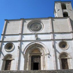 Il duomo - the main church - in Todi