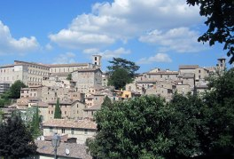 Todi is perched on two hills